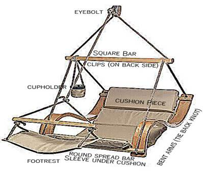 helicopter swing chair assembly instructions